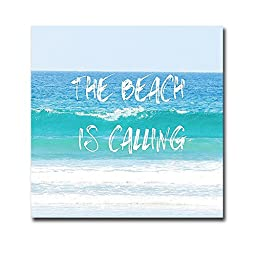 Beach is Calling by Sylvia Coomes Premium Oversize Gallery-Wrapped Canvas Giclee Art (Ready-to-Hang)