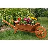 V lo porte plante d coratif jardini re en bois et fer for Plante decorative jardin