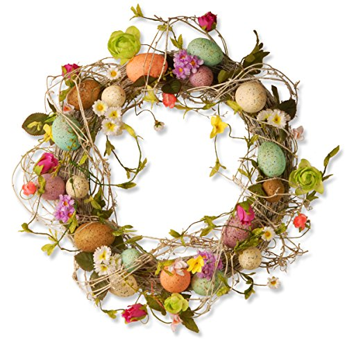 Easter Wreath with Eggs