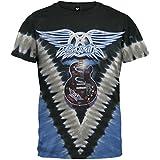 Aerosmith - Guitar Tie Dye T-Shirt