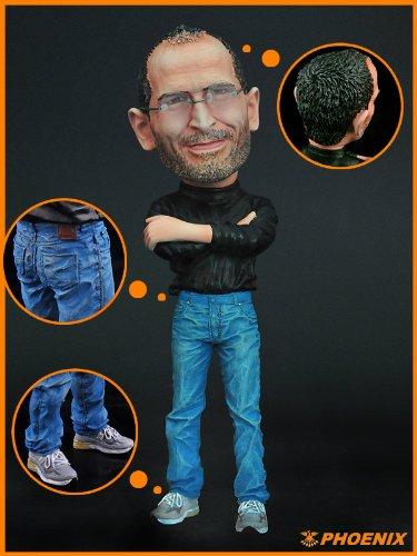G9001 ☆珍品☆希少 追悼 スティーブ・ジョブズ(Steve Jobs) (IPHONE 4S)塗装済完成品