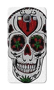 KnapCase Skull Graffiti Designer 3D Printed Case Cover For Samsung Galaxy A7