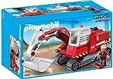 Playmobil - 5282 - Excavateur et Ouvrier