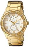 GUESS Women's U0442L2 Mid-Size Gold-Tone Multi-Function Watch