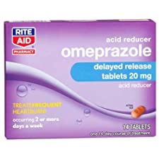 Rite Aid Omeprazole, Acid Reducer Tablets 14 Ct.