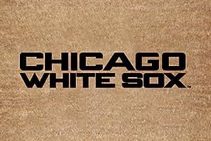 MLB Chicago White Sox Flocked Door Mat