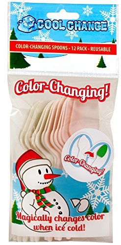 Color Change Spoons - Christmas Party Favorite - 1