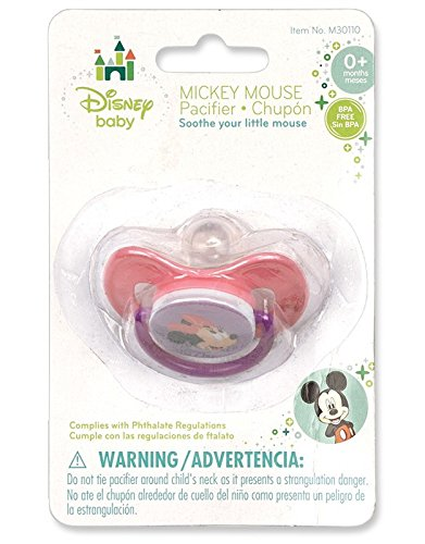 Minnie Mouse Deluxe Pacifier - 1