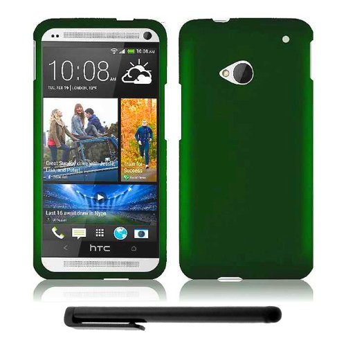>>  HTC One (M7) Snap-On Protector Hard Cover Case + Bonus Long Arch 5.5