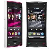 Nokia X6【8GB シムフリー フルタッチスクリーン!】3G・GSM4バンド海外携帯 ノキア X6