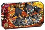 Mega Bloks Pirates of the Caribbean 3 Deluxe Ship -Black Pear