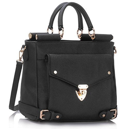 New Women Designer HandBags Ladies Faux Leather