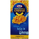 Kraft Macaroni and Cheese, 7.25 Ounce Boxes (Pack of 35)