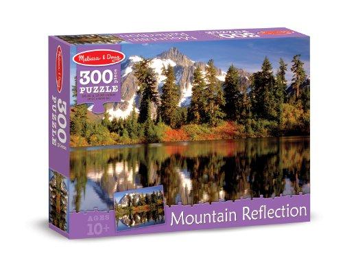Melissa & Doug Mountain Reflection Cardboard Jigsaw Puzzle, 300-Piece
