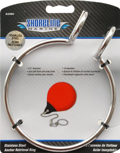 Shoreline Marine Anchor Retrieval Ring (Stainless Steel) primary