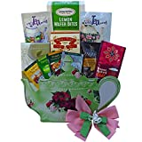 Art of Appreciation Gift Baskets Tea Time Treasures Tea Pot Shaped Gift Bag Tote