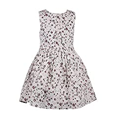 CoffeeBean Kids Girls Floral Print Dress(9-10 Years)