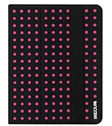 Incase CL60294 Canvas Maki Jacket for iPad 4, iPad 3 and iPad 2 - Black/Pink Small Dot