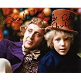 LIMITED EDITION WILLY WONKA AND CHOCOLATE FACTORY SIGNED PHOTO + CERT PRINTED AUTOGRAPH SIGNATURE SIGNED SIGNIERT AUTOGRAM