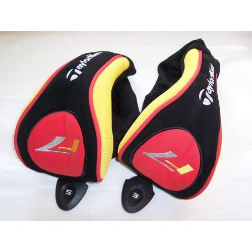 Wood Head Cover Set : Golf Club Head Covers : Sports & Outdoors