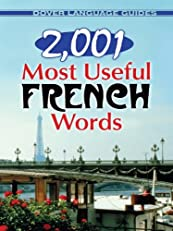 2,001 Most Useful French Words (Dover Dual Language French)