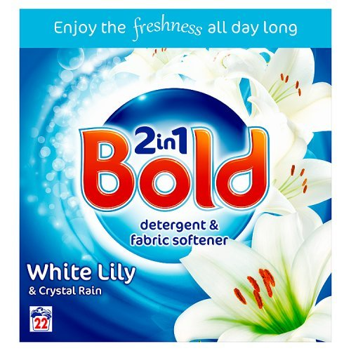 Bold 2-in-1 White Lily & Crystal Rain Washing Powder, 22 Washes