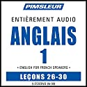 ESL French Phase 1, Unit 26-30: Learn to Speak and Understand English as a Second Language with Pimsleur Language Programs | Livre audio Auteur(s) :  Pimsleur Narrateur(s) :  Pimsleur