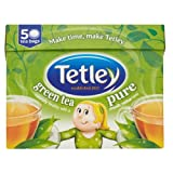 Tetley Pure Green Tea Bags 4x50 per pack