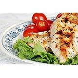 Organic Free Range Chicken Breast (Boneless & Skinless) - One Package of (2 to 3) Boneless & Skinless Organic Chicken Breasts, 1.2 to 1.5 Pound Packages each.