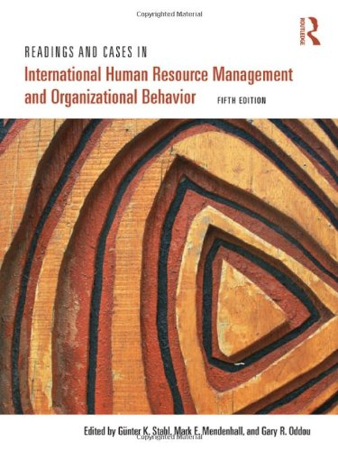 Readings and Cases in International Human Resource...