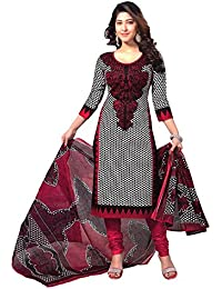 Janasya Women's Unstitched Polyester Dress Material