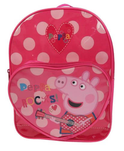 Peppa Pig Rocks - Mochila escolar Peppa pig (Trade Mark Collections PEPPA001203)