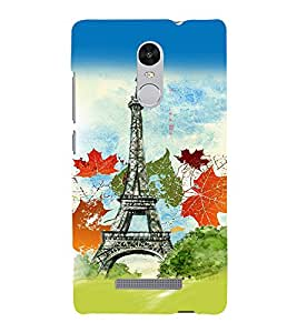 PrintVisa Travel Paris 3D Hard Polycarbonate Designer Back Case Cover for Xiaomi Redmi Note 3