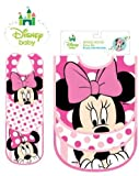Disney Minnie Mouse 3 pack bibs - Baby Showers