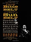 From Bible Belt To Sunbelt: Plain-folk Religion Grassroots Politics And The Rise Of Evangeli