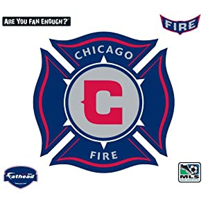 Fathead Chicago Fire Logo Wall Decal by Fathead
