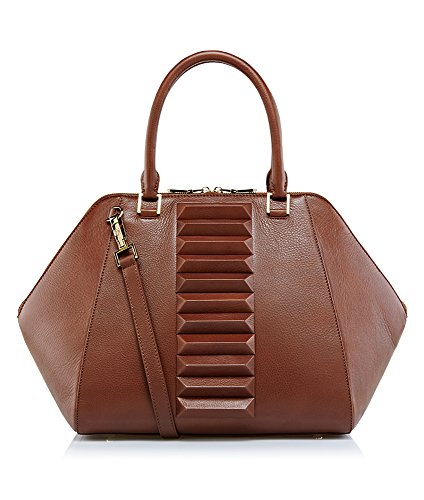Kristina-George-Handbag-Izabelle-Top-Handle-Brown