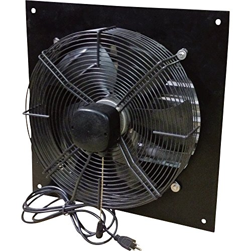 Canarm Exhaust Shutter Fan - 16in. Dia., 1,800/2,000/2,300 CFM, 1/8 HP, Model# XFS16 (Shutter Exhaust Fan With Cord compare prices)