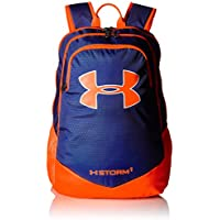 Under Armour Boys' Storm Scrimmage Backpack (Royal/Blaze Orange)