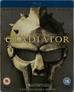 Gladiator Blu-ray SteelBook [ Region free, UK Import]
