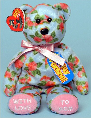 Ty BB 2.0 Motherly - Bear with Code (Hallmark Gold Crown Exclusive)