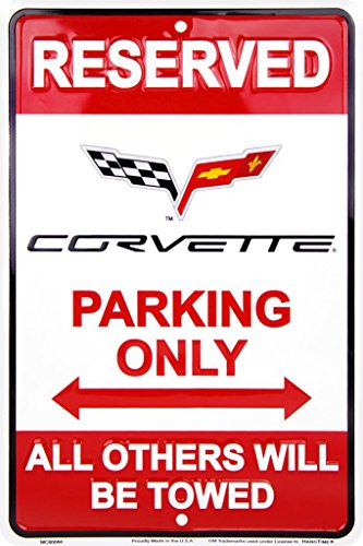 chevrolet-corvette-parking-cartel-de-chapa-placa-metal-plano-nuevo-30x20cm-vs257-1