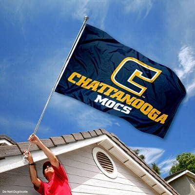 Tennessee Chattanooga Mocs UTC University Large College Flag
