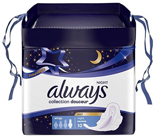 always-douceur-night-damenbinden-mit-flugeln-10-stuck-pro-packung-4-packungen
