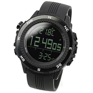 ラドウェザー 腕時計 ドイツ製センサー 高度気圧計 アウトドア スポーツ時計