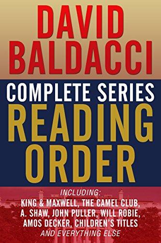DAVID BALDACCI COMPLETE SERIES READING ORDER: King…