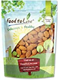 Food To Live ® Almonds (Whole, Raw, Shelled, Unsalted) (2 Pounds)