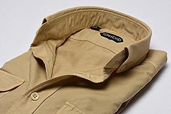 TOM FORD (トムフォード) カジュアルシャツ ボタンダウン/コットン 100%【メンズ】【39 15 1/2】【並行輸入品】