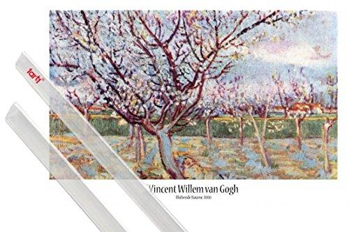 poster-soporte-vincent-van-gogh-poster-91x61-cm-florecimiento-de-arboles-1888-y-1-lote-de-2-varillas