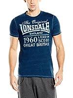 Lonsdale Camiseta Manga Corta Mereworth (Azul Royal)
